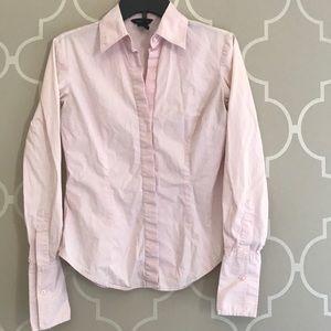 Moda International Pink Classic Button Up